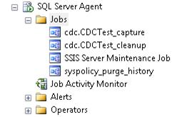 CDC SQL Agent jobs