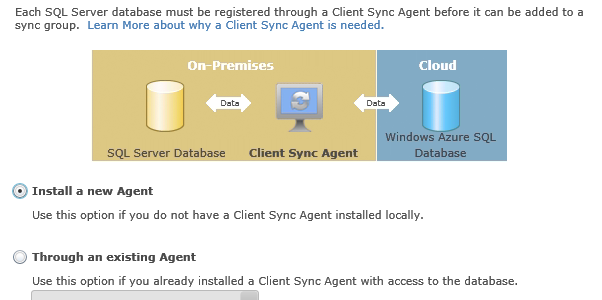 Getting started with SQL Data Sync