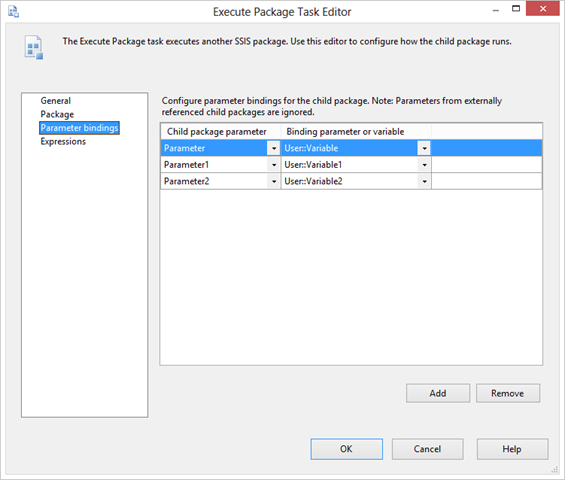 Dynamic Execution of Child Packages with Different Parameters – Matt