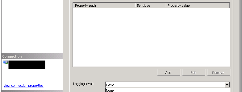Setting a Default Logging Level in the SSIS Catalog