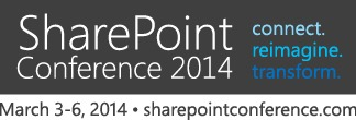 Presenting at SharePoint Conference 2014